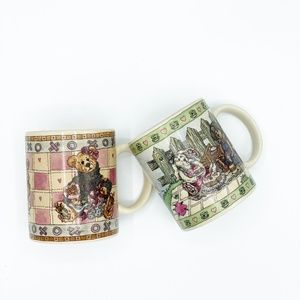 Boyds Bear Collection Mugs Bearware Pottery Works